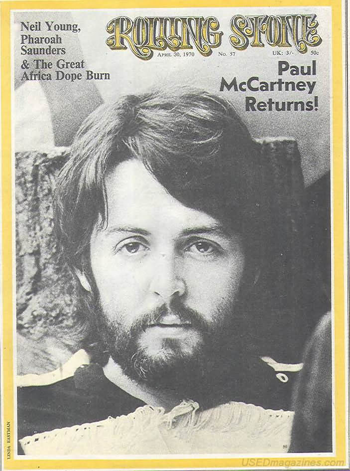 Backissues Com Rolling Stone April 30 1970 Issue 57