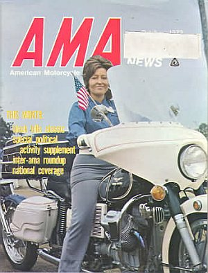 American Motorcycle Association News October 1972