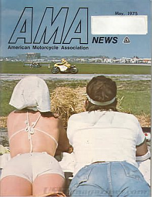 American Motorcycle Association News May 1975