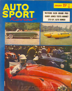 Auto Sport Review January 1952