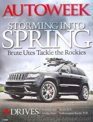 AutoWeek May 14, 2012