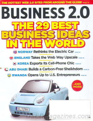Business 2.0 August 2007