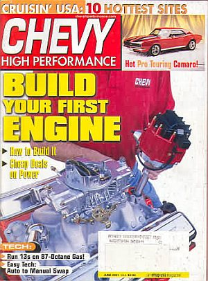 Chevy High Performance June 2001