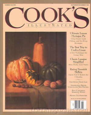 Cook's Illustrated November 1994