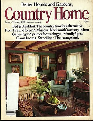 Country Home January/February 1985