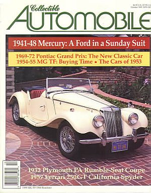 Collectible Automobile Volume 12 Number 3