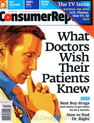 Consumer Reports March 2011
