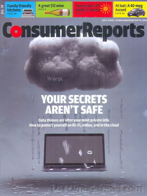 Consumer Reports July 2014