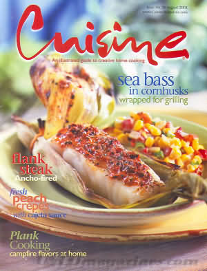 Cuisine (August Home) August 2001