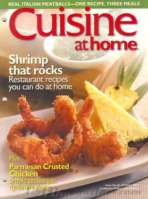 Cuisine (August Home) October 2002