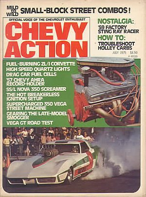 Chevy Action July 1975