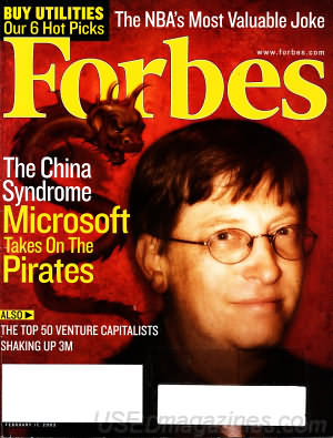 Forbes February 17, 2003