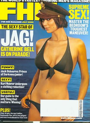 FHM (For Him Magazine) July 2002