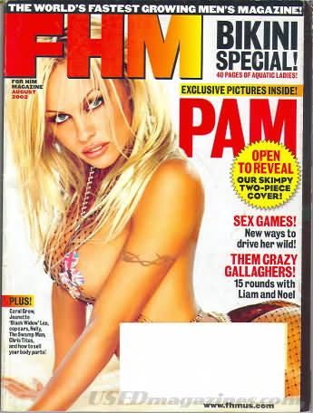 FHM (For Him Magazine) August 2002
