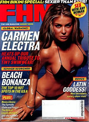 FHM (For Him Magazine) August 2003