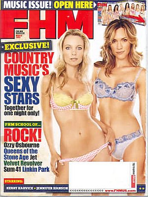 FHM (For Him Magazine) March 2005