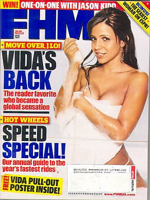 FHM (For Him Magazine) April 2005