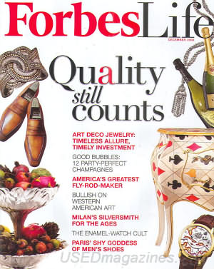 Forbes Life December 2008