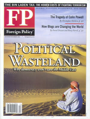 Foreign Policy November/December 2004