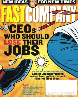 Fast Company October 2003