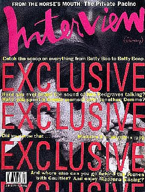 Andy Warhol's Interview February 1991