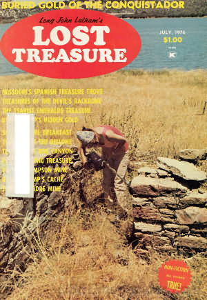 Lost Treasure July 1976