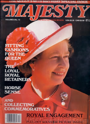 Majesty April 1986