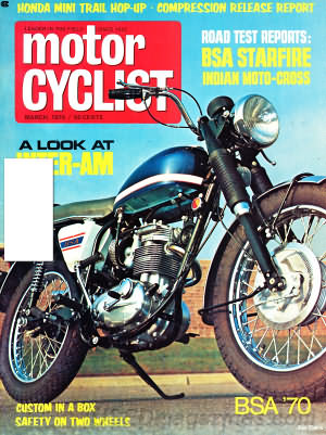 Motorcyclist March 1970