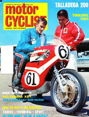 Motorcyclist August 1970