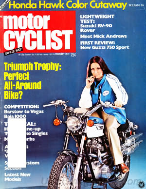 Motorcyclist February 1972