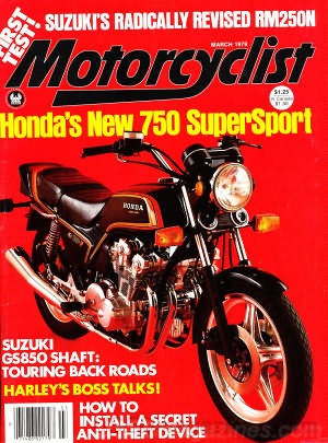 Motorcyclist March 1979