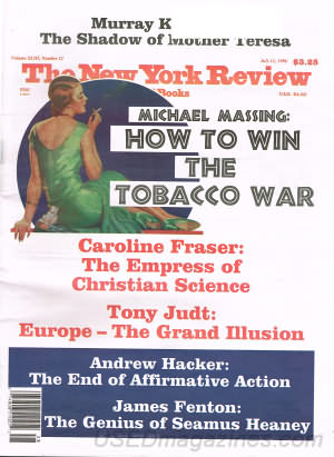 New York Review of Books July 11, 1996