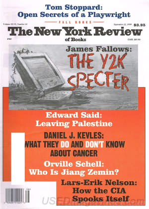 New York Review of Books September 23, 1999