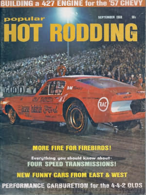 Popular Hot Rodding September 1968