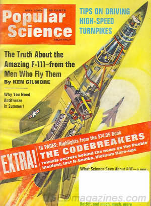 Popular Science May 1968