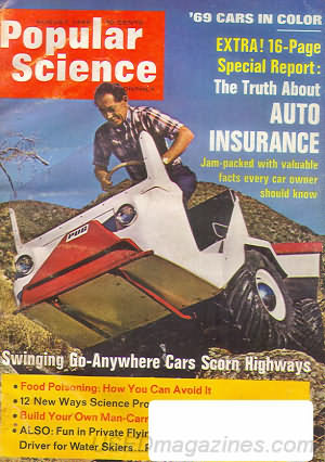 Popular Science August 1968
