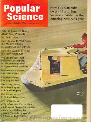 Popular Science March 1970