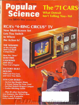 Popular Science June 1970
