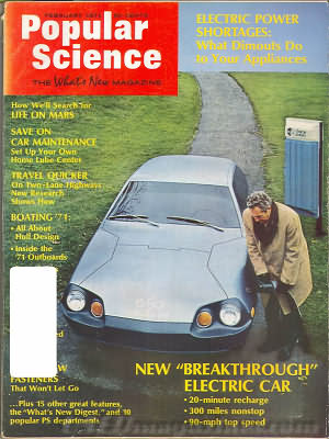 Popular Science February 1971