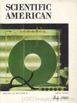 Scientific American July 1960