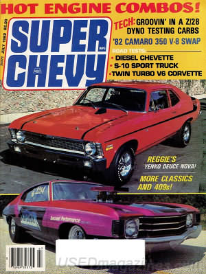Super Chevy July 1982