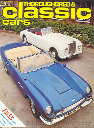 Thoroughbred & Classic Cars November 1976