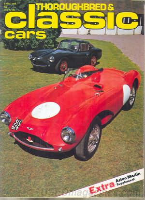 Thoroughbred & Classic Cars April 1978