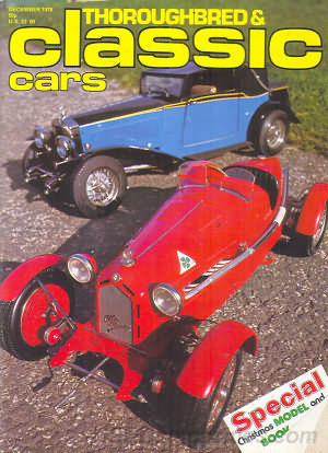 Thoroughbred & Classic Cars December 1978