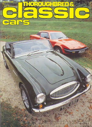 Thoroughbred & Classic Cars January 1979