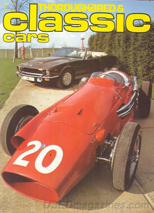 Thoroughbred & Classic Cars July 1979