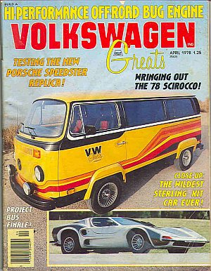 Volkswagen Greats April 1978