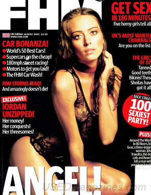 FHM (U.K. Edition) August 2003